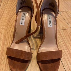 Steve Madden brown heels size 8